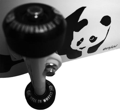 Kanske åka skateboard?