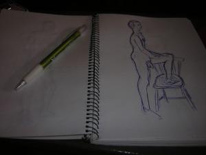 Penna och papper, det är nästan allt som behövs.